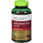 Simply Right™ Red Yeast Rice Herbal Supplement - 300 ct.